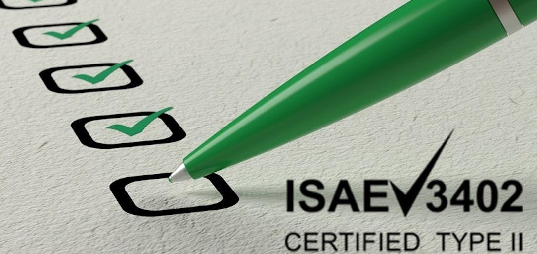 ISAE certificering 2020