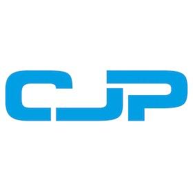 CJP logo cyaan