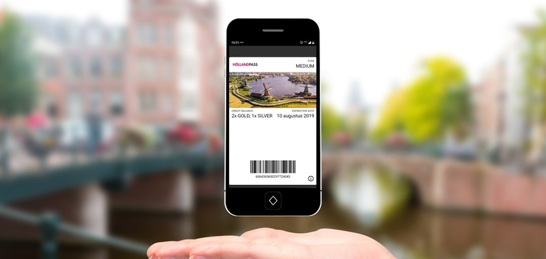 Digitale Holland Pass Wallet mobiel