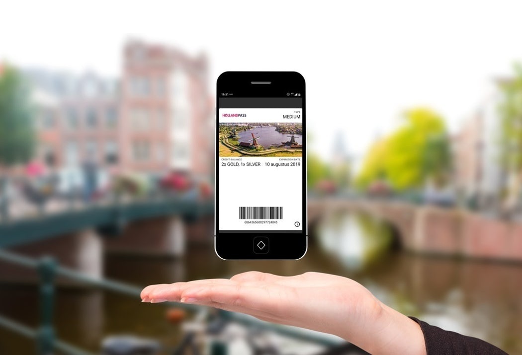 Digitale Holland Pass Wallet mobiel