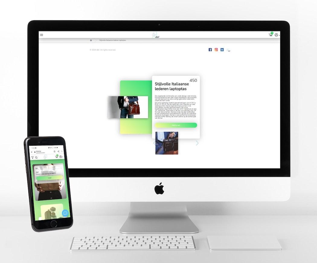 Loyalty webshop systeem spaarpunten dbf