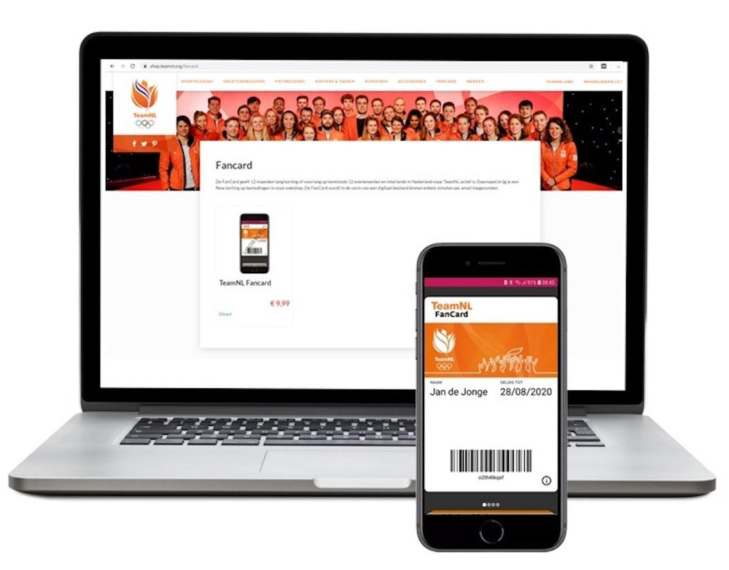 Digitale pas dbf digitaliseren ledenpas of klanten kaart