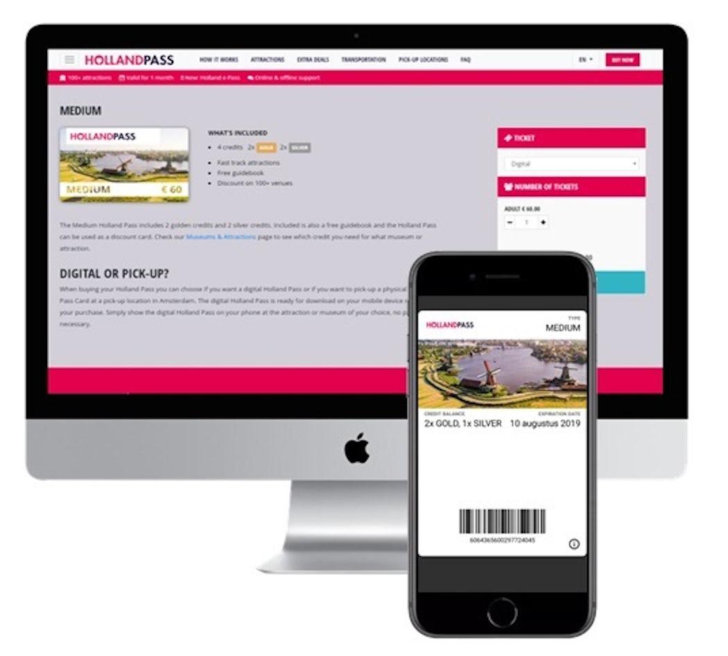 Digitale pas of klantenkaart dbf