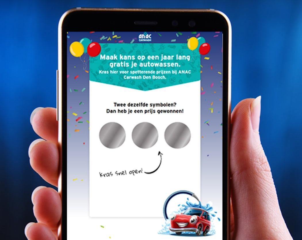 Online digitale kraskaart dbf loyalty marketing 2