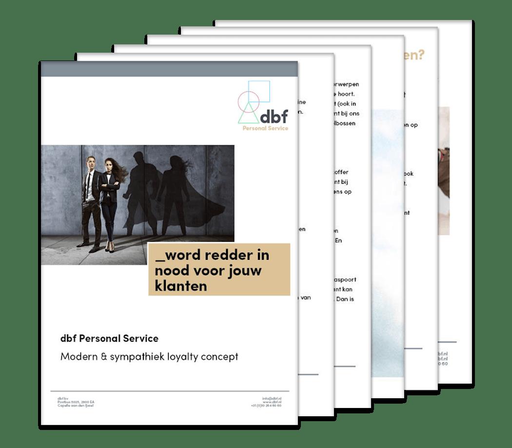 Brochure personal service dbf